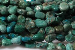 Kamienie Chryzokola 7437kp 6x8mm 1sznur