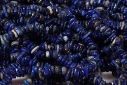 Kamienie Lapis lazuli 4430kp sieczka 3x5mm 1sznur