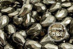 Kamienie Piryt 7345kp 12x8mm 1sznur