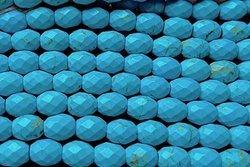Kamienie Turkus syntetyczny 7627kp 6x8mm 1szn.