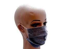 Maseczka Maska bawełniana szara 1szt.