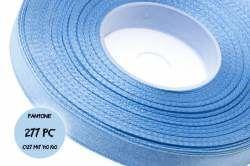 Niebieska taśma atłasowa 12at 9mm 1m