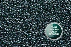TOHO  TR-11-118 Trans.Lustered Green Emerald 100g