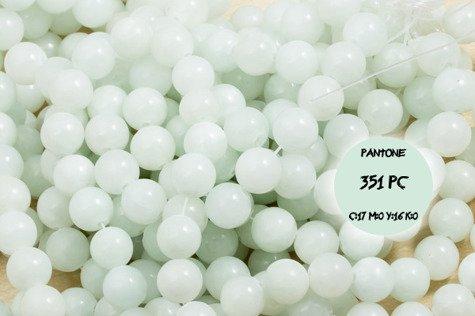 Jadeit 4111kp 10mm 1sztuka