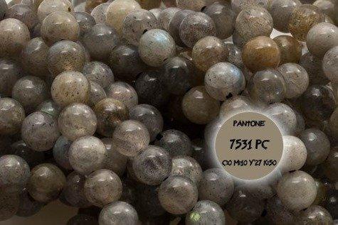 Kamienie Labradoryt 2694kp 12mm 1sztuka
