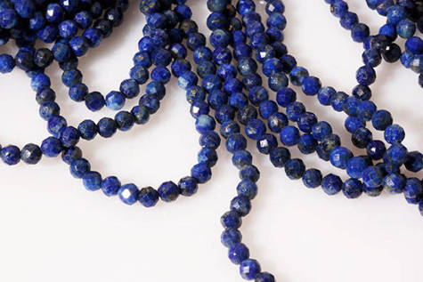 Kamienie Lapis lazuli 7315kp 3mm 1sznur