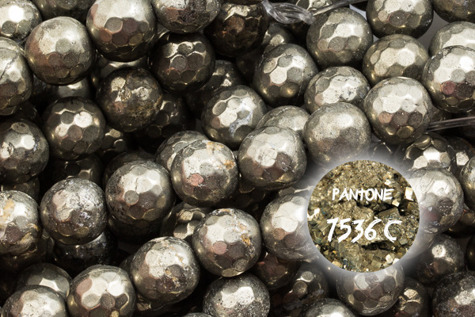 Kamienie Piryt 7122kp 6mm 1sznur