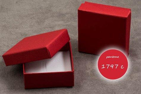 Pudełko jubilerskie 052okms 60x60mm Z1szt.