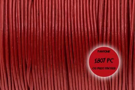 Rzemień skórzany #004 1mm 1m