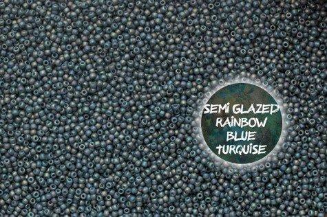 TOHO TR-11-2635F S-Glazed Rain. Blue Turquise 10g