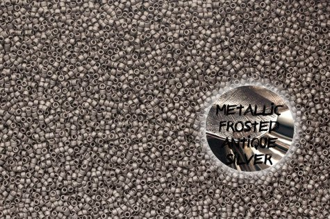 TT-01-566 Metallic Frosted Antique Silver 20g